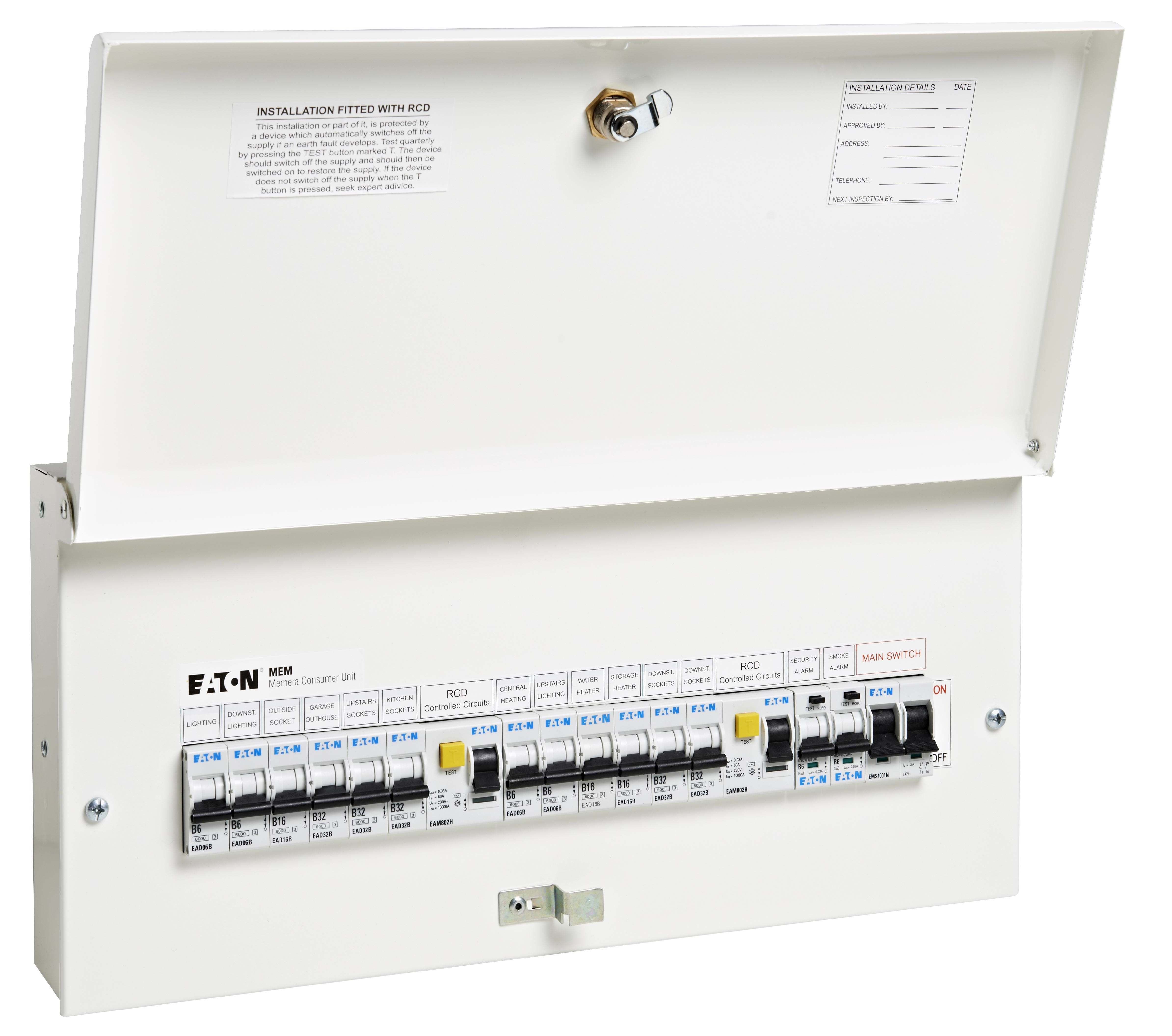 Tech Domestic Wiring Regulations Guide And Troubleshooting Of Uk Fuse Box 23 Diagram Images Home House Examples